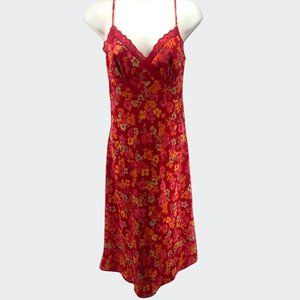 Express Sun dress Size Pink and Red